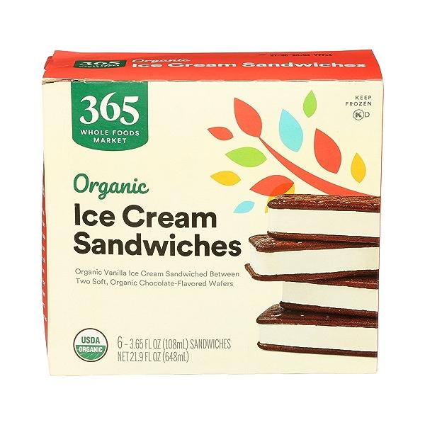 Organic Ice Cream Sandwiches, 21.9 fl oz 2