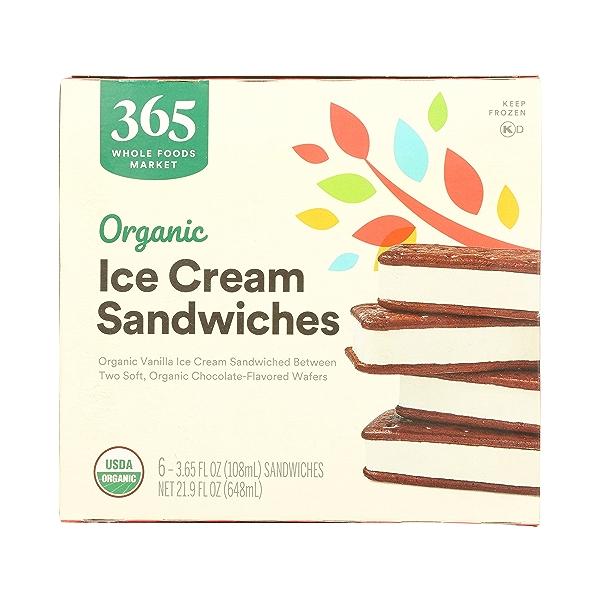 Organic Ice Cream Sandwiches, 21.9 fl oz 7