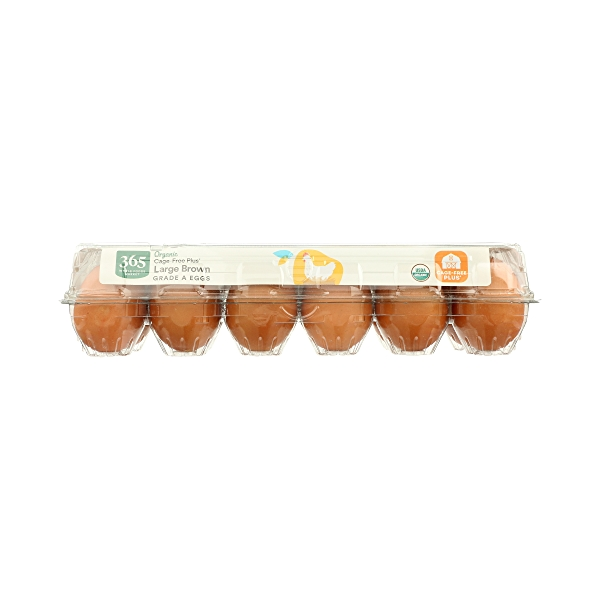 Organic Large Brown Grade A Eggs, 12 Count 9