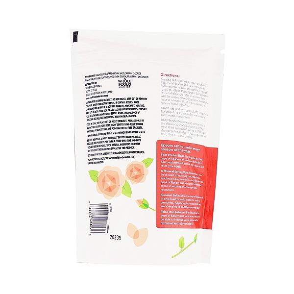 Rose Petal Epsom Salt, 48 oz 7