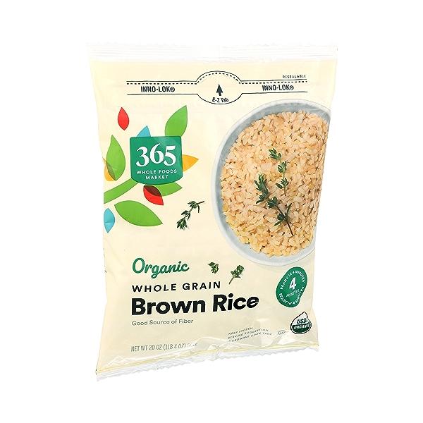 Organic Whole Grain Brown Rice, 20 oz 2
