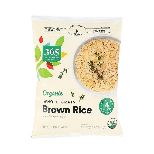 Organic Whole Grain Brown Rice, 20 oz 3