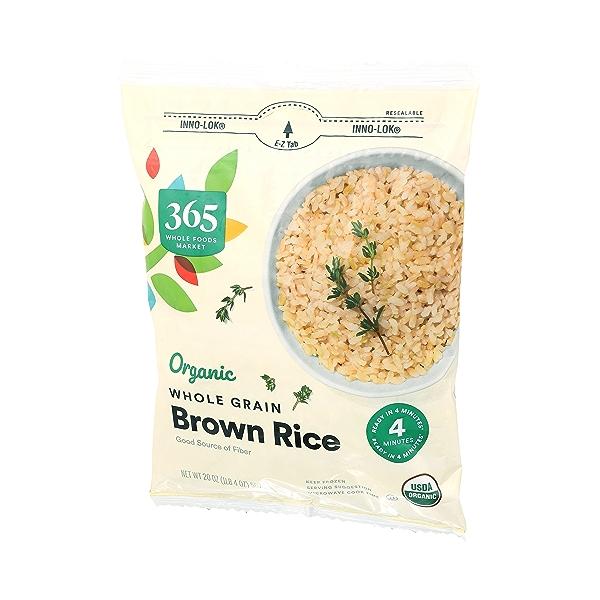 Organic Whole Grain Brown Rice, 20 oz 4