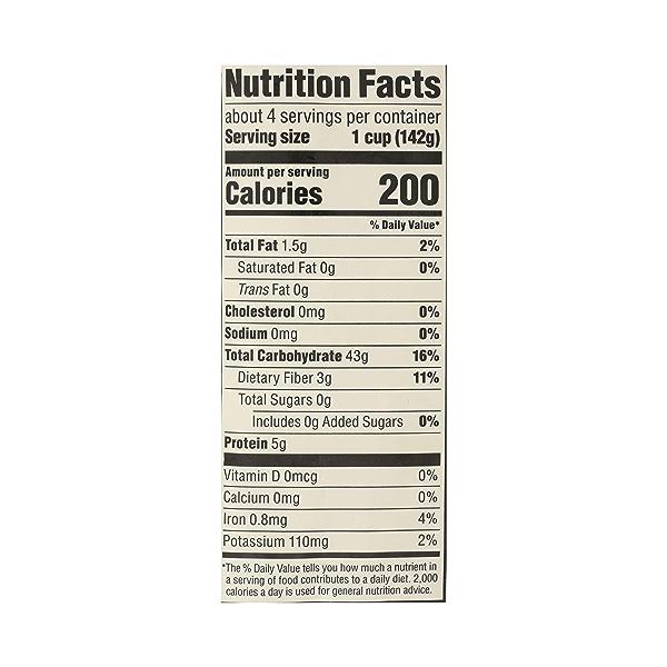 Organic Whole Grain Brown Rice, 20 oz 10