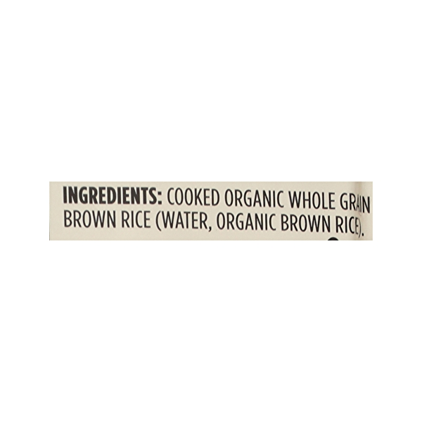 Organic Whole Grain Brown Rice, 20 oz 12
