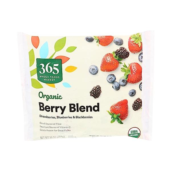 Organic Berry Blend Frozen Fruit 2