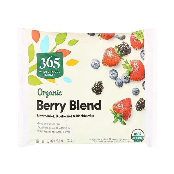 Organic Berry Blend Frozen Fruit 1