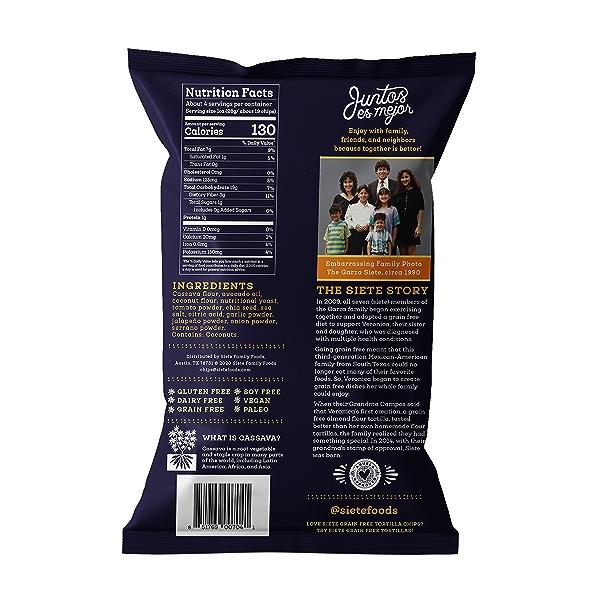 Nacho Tortilla Chips, 4 oz 2