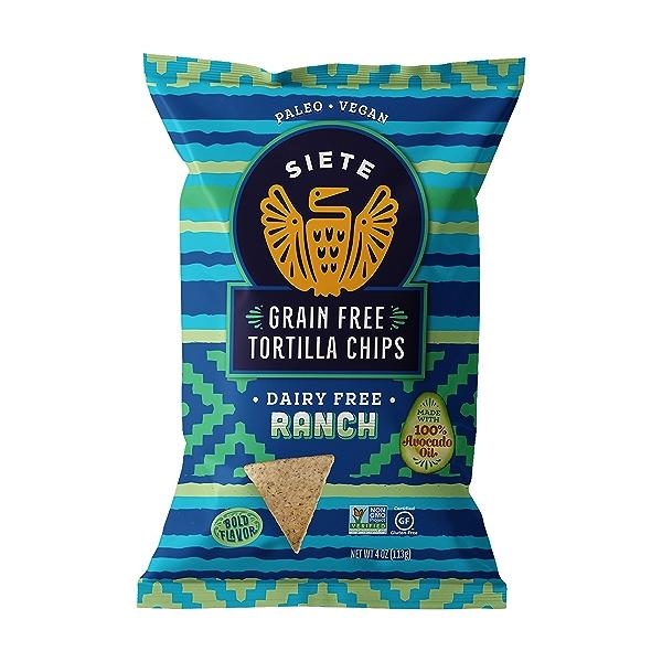 Ranch Tortilla Chips, 4 oz 1
