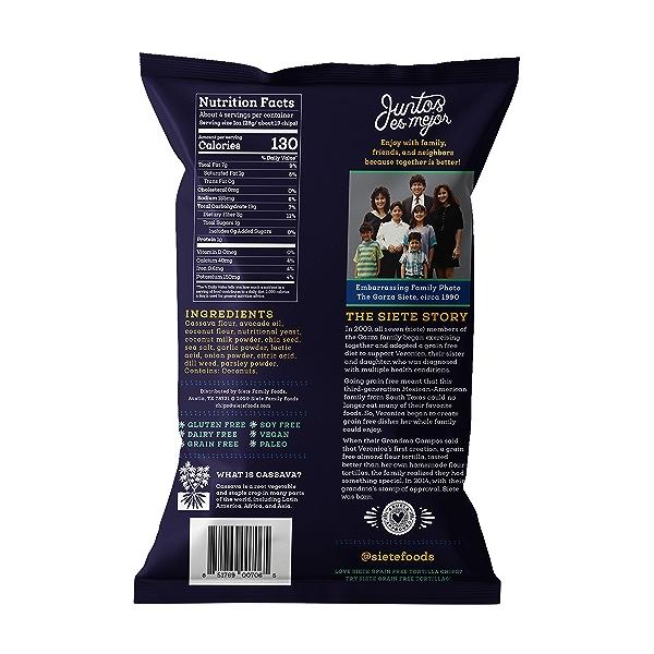 Ranch Tortilla Chips, 4 oz 2