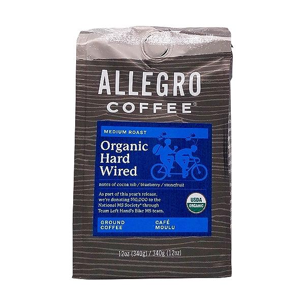 Hard Wired Blend Coffee, 12 oz 1