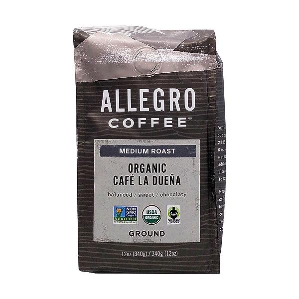 Organic Medium Cafe La Duena Ground Coffee, 12 oz 1