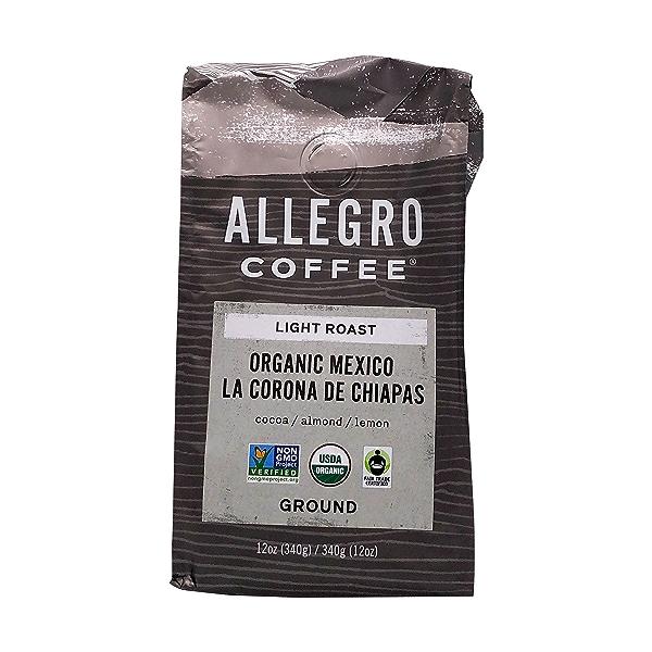 Organic Mexico Ground Coffee, 12 oz 1