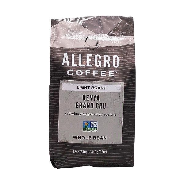 Kenya Grand Cru Whole Bean Coffee, 12 oz 1
