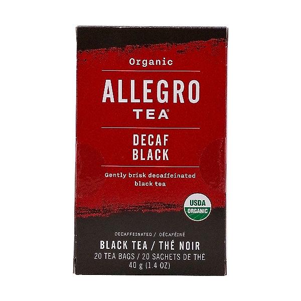 Organic Decaf Black Tea, 1.4 oz 1