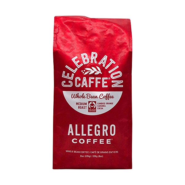 Celebration Caffe Whole Bean Coffee, 8 oz 1