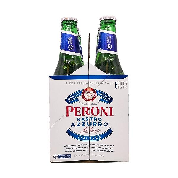 Nastro Azzuro, 6 bottles 2