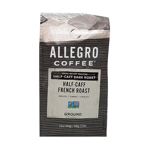Half Caf French Ground Coffee, 12 oz 1