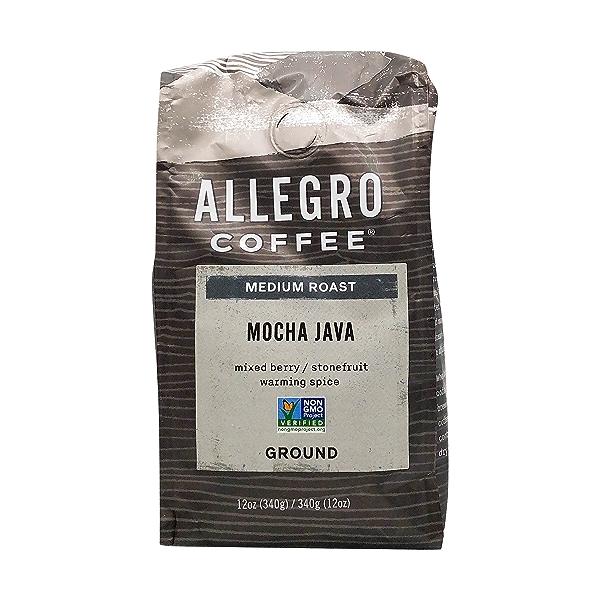 Mocha Java Ground Coffee, 12 oz 1