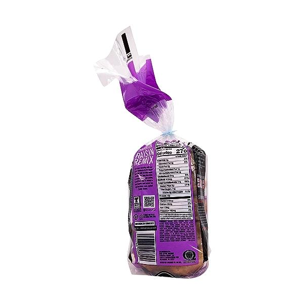 Organic Cinnamon Raisin Remix Bagel, 16.75 oz 2
