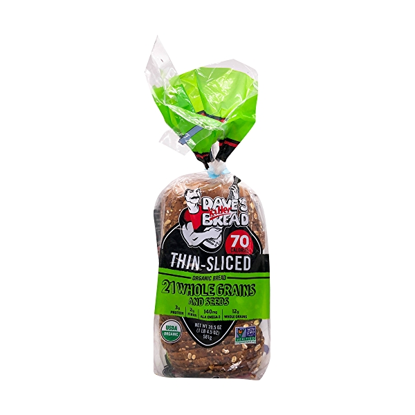 Organic Thin-sliced 21 Whole Grains And Seeds Bread, 20.5 oz 1