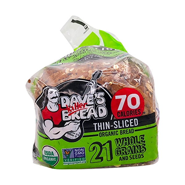 Organic Thin-sliced 21 Whole Grains And Seeds Bread, 20.5 oz 5