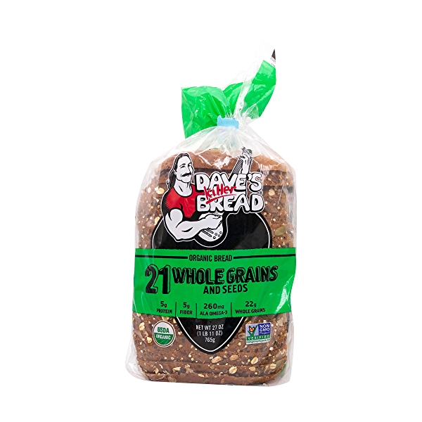 Organic 21 Whole Grains And Seeds Bread, 27 oz 1