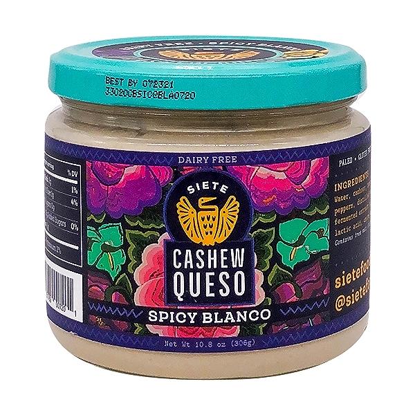 Spicy Blanco Cashew Queso Dip, 10.8 oz 1