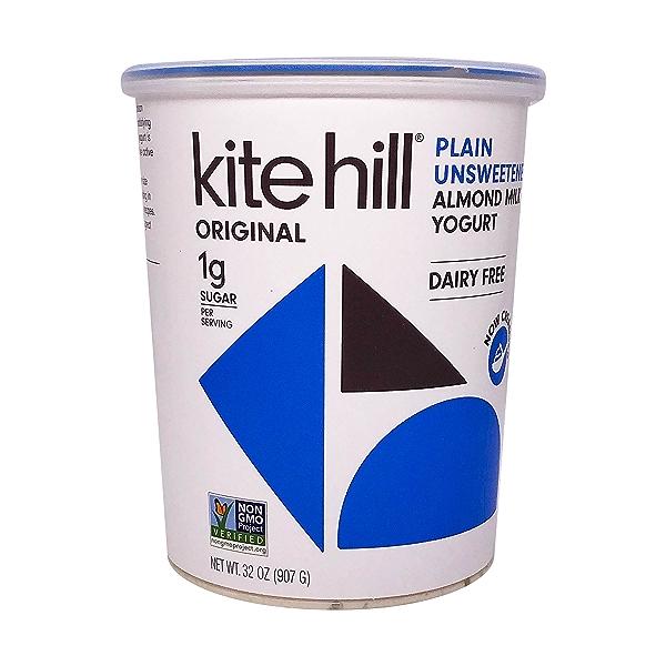 Unsweetened Plain Almond Yogurt, 32 oz 1