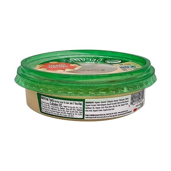 Organic Original Hommus, 10 oz 2