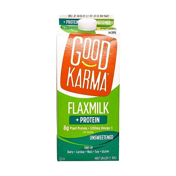 Unsweetened Flaxmilk + Protein 1