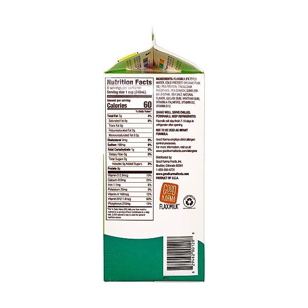 Unsweetened Flaxmilk + Protein 2