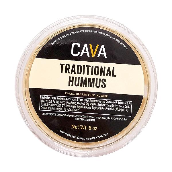 Traditional Hummus, 8 oz 1