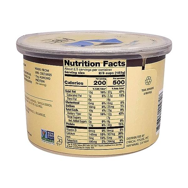 Unsweetened Plain Yogurt, 16 oz 2