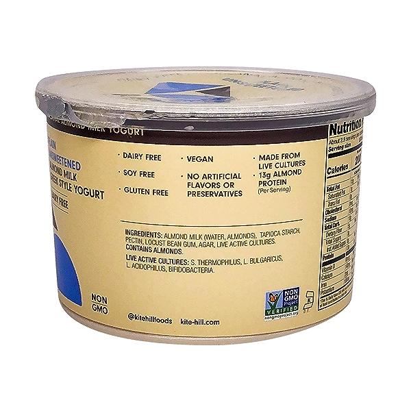 Unsweetened Plain Yogurt, 16 oz 3