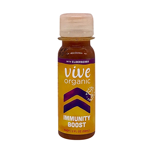 Organic Elderberry Immunity Boost Wellness Shot, 2 fl oz 1