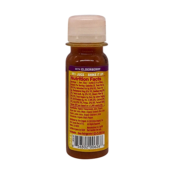 Organic Elderberry Immunity Boost Wellness Shot, 2 fl oz 2