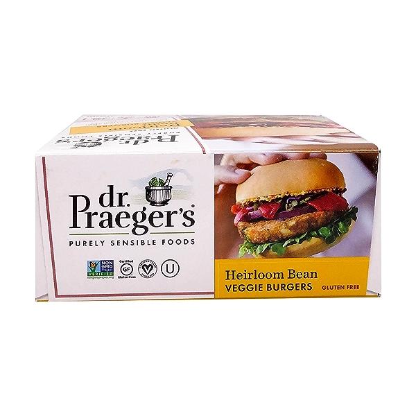 Sensible Foods Heirloom Bean Veggie Burgers, 10 oz 5