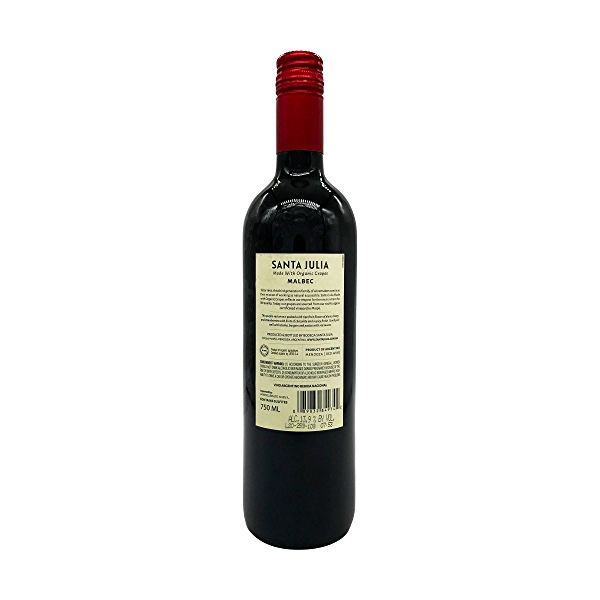 Organic Malbec, 750 ml 2