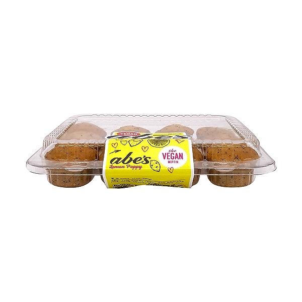 Mini Vegan Lemon Poppy Seed Muffins, 10 oz 3