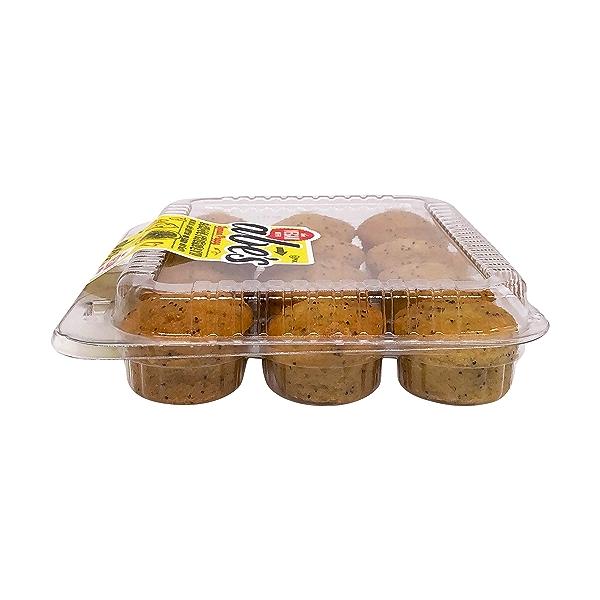 Mini Vegan Lemon Poppy Seed Muffins, 10 oz 4