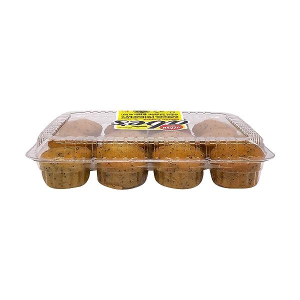 Mini Vegan Lemon Poppy Seed Muffins, 10 oz 5