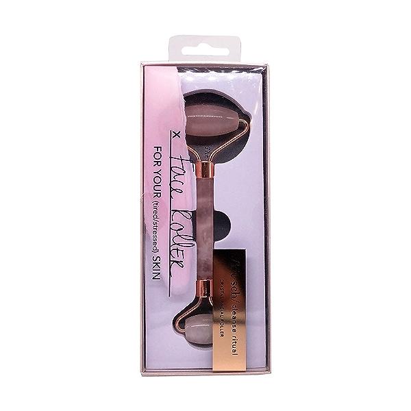 Rose Quartz Crystal Facial Roller, 1 each 1