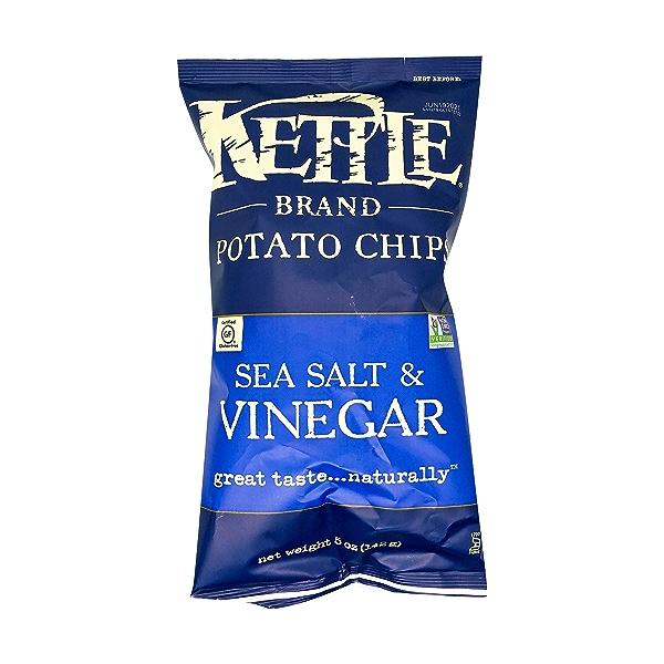Sea Salt & Vinegar Potato Chips, 5 oz 1