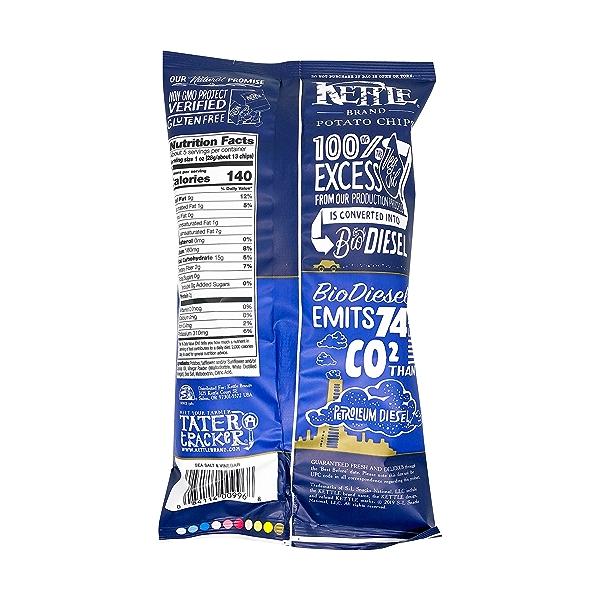 Sea Salt & Vinegar Potato Chips, 5 oz 2
