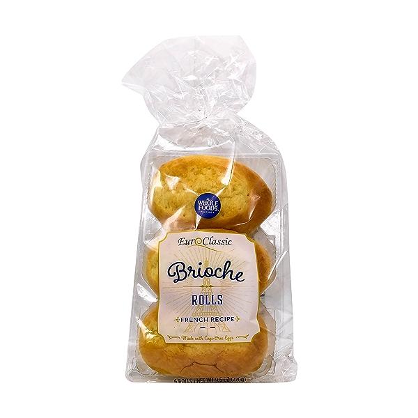 Brioche Roll 6 Pack, 9.5 oz 1