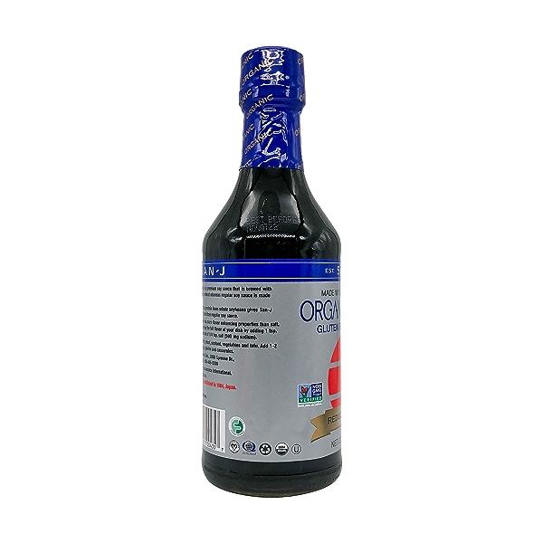 Reduced Sodium Organic Tamari, 20 fl oz 4