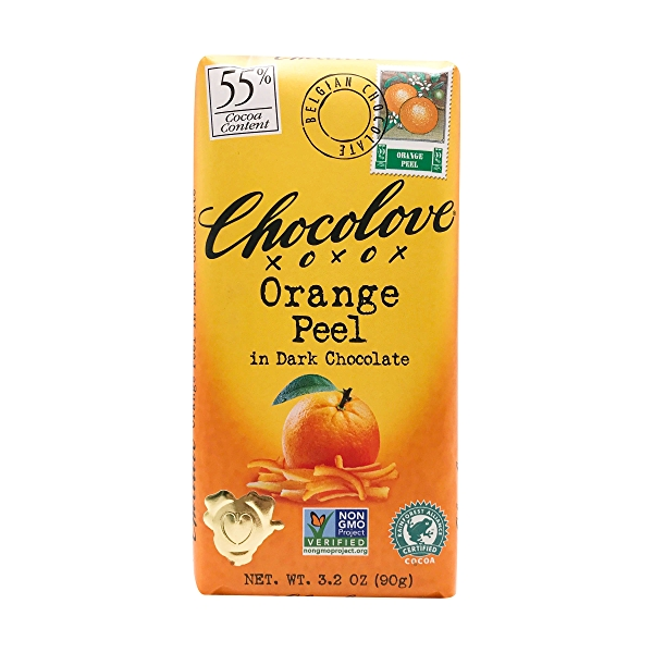 Orange Peel In Dark Chocolate, 3.2 oz 1