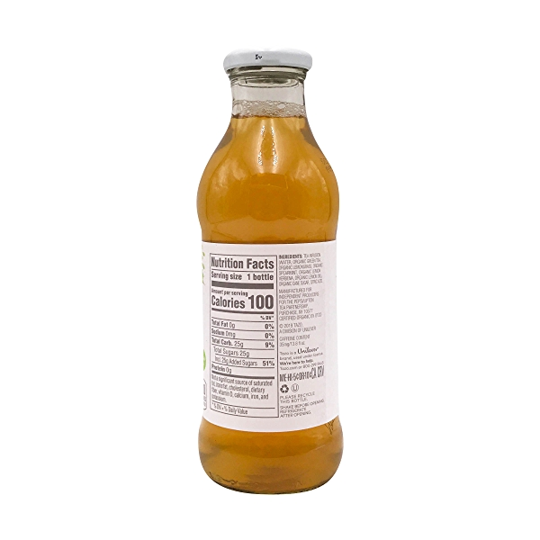 Organic Iced Green Tea, 13.8 fl oz 2