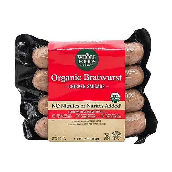 Organic Chicken Bratwurst 1